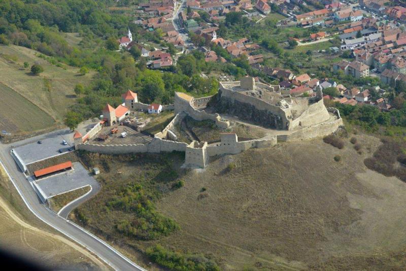 Obiective turistice - Cetatea Rupea
