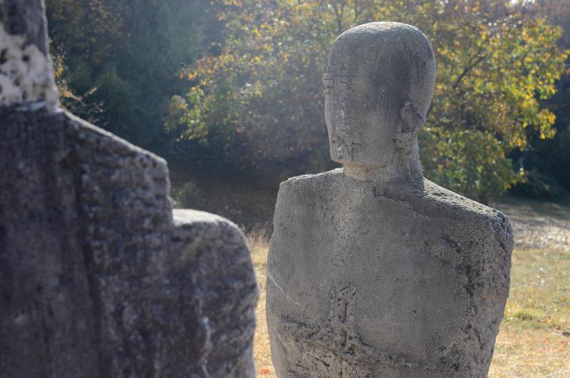 Obiective turistice - Tabara De Sculptura Magura - Ciolanu