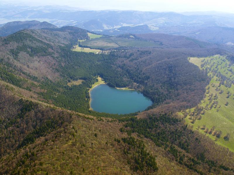 Obiective turistice - Lacul Sfanta Ana