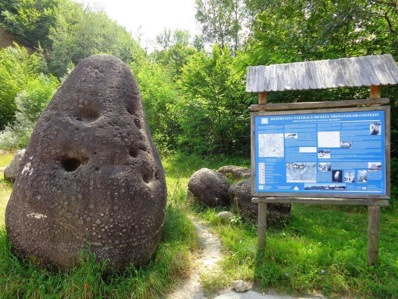 Obiective turistice - Muzeul Trovantilor din Costesti